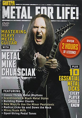 Guitar World -- Metal for Life!: Mastering Heavy Metal Guitar (DVD) by Alfred