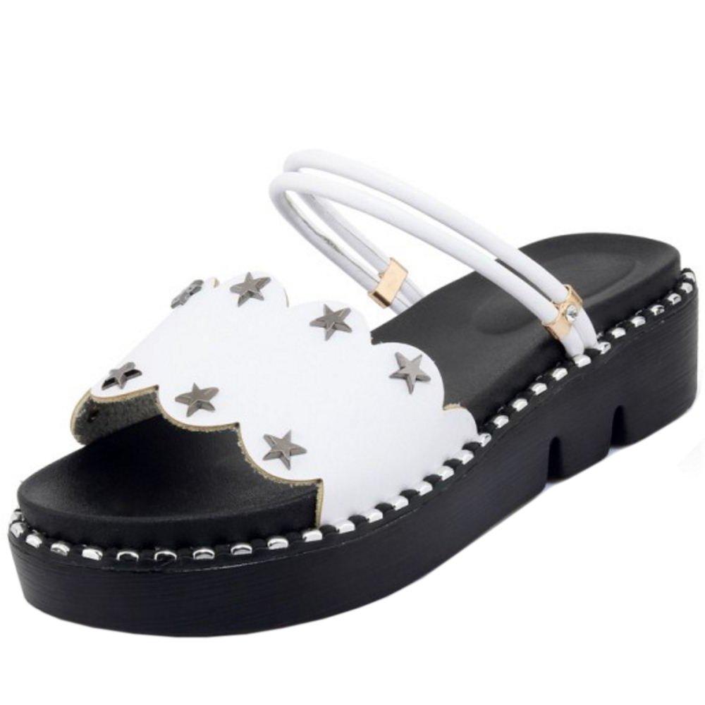 e7b46cb7f811 Zanpa Women Women Women Sweet Flatform Sandals 2 Way B07C32YDGJ 8 US (sole  length 25 CM)