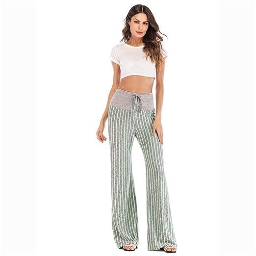 FAMLYJK Pantalones cómodos de Yoga para Mujer Pantalones de ...
