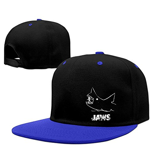 Custom Latest Unisex-Adult Jaws Shark Poster Baseball Visor Cap RoyalBlue (Galaxy S5 Case Jaws)