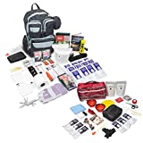 Emergency Zone Bundle & Save 2 Person Urban Survival Bug Out Bag + Basic Dog Emergency Kit | Perfect Way to Prepare Your Family for 72 Hours | Be Ready for Disasters Like Hurricanes & Earthquakes