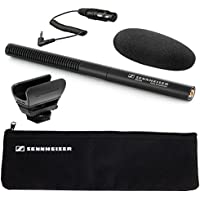 Sennheiser MKE-600 Shotgun Camcorder Microphone plus Sennheiser KA600 Adapter Cable