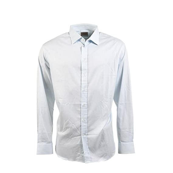 1e2c4009 Image Unavailable. Image not available for. Colour: Armani Shirt Blue ...