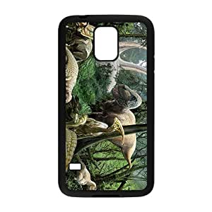BYEB Forest Creative Creative Dinosaurs Custom Protective Hard Phone Cae For Samsung Galaxy S5