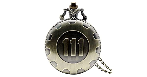 Amazon.com: yoioy Retro cadena de cuarzo reloj de bolsillo ...
