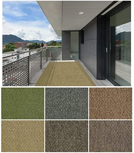 Koeckritz Rugs 2 x3 Winter Grass Gardenscape Indoor Outdoor Area Rug Carpet, Runners with Many Sizes and Finished Edges.
