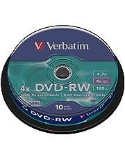 DVD-RW 4x, 4.7GB Branded