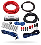 amp wires - InstallGear 4 Gauge Complete Amp Kit Amplifier Installation Wiring Wire
