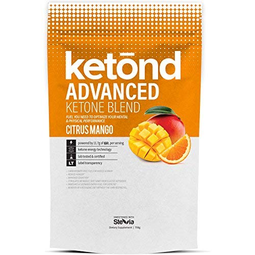 Ketond Advanced Ketone Supplement - 11.7g of goBHB per Serving (30 Servings) - #1 Rated BHB (Beta-HydroxyButyrate) Supplement for Weight Loss, Increased Energy, Focus & Fat Loss (Citrus Mango) by Ketond Nutrition (Image #7)