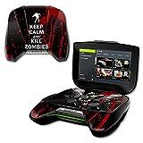 nvidia shield portable - MightySkins Protective Vinyl Skin Decal for NVIDIA Shield Portable cover wrap skins sticker Kill Zombies