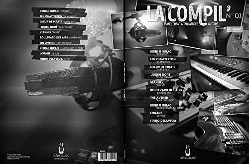 La Compil' N° 01 - Piano Voix Guitare - Aede Music Accessoire – 2015 Divers Aède Music B018Y5XCO8 Entertainment - Music