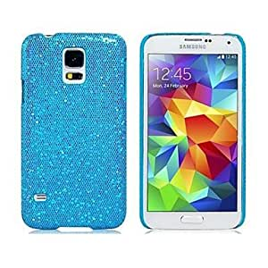 LIMME Glittery Plastic Case for Samsung Galaxy S5 I9600 , Yellow