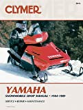 Yamaha Snowmobile, 1984-1989, Clymer Publications Staff and Haynes Manuals, Inc. Editors, 0892875038