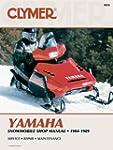 Clymer Yamaha Snowmobile 1984-1989: S...