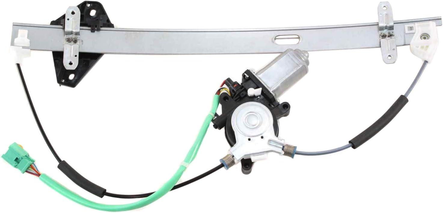 Power Window Regulator For 2007-2011 Honda CR-V Front Passenger Side With Motor