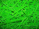 Champ Zarma Fly 3 1/4'' Plastic Golf Tees - Lime Green - 100 Tees in Bulk