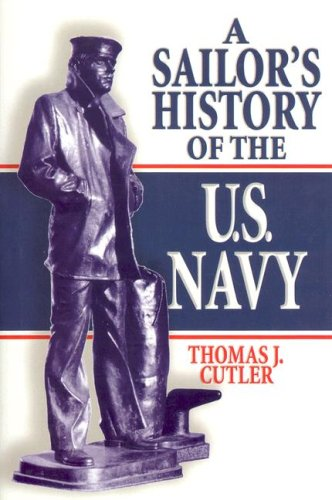 Navy Blue History Book - A Sailor's History of the U.S. Navy