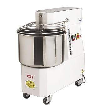 Pétrin de boulanger électrique avec cuve inox 47 litres