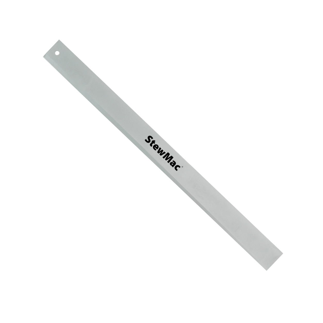 StewMac Precision Straightedge for Checking Neck Straightness and Relief on Stringed Instruments, 18'' Length