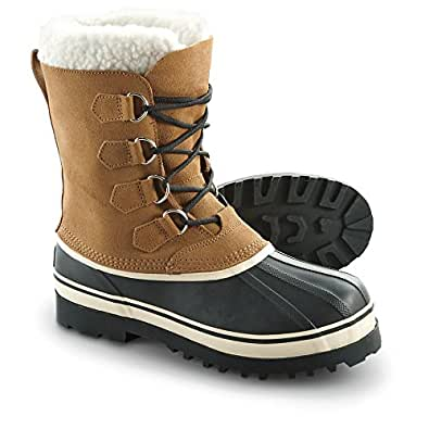 Amazon.com | Guide Gear Men's Hovland Wool Lined Winter