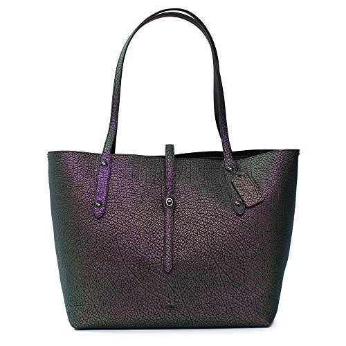 market Hologram Leather anytime Shopper