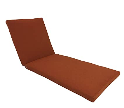 Exceptional Urbandesignfurnishings.com Made In USA Outdoor Patio Chaise Lounge Cushion  26u0026quot; W X 76u0026quot
