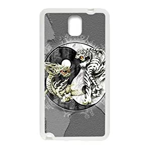 Tiger and lion deadly struggle Cell Phone Case for Samsung Galaxy Note3