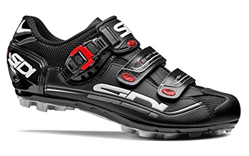 Sidi Dominator 7 Mega MTB Shoes (EU 44.5, Black)