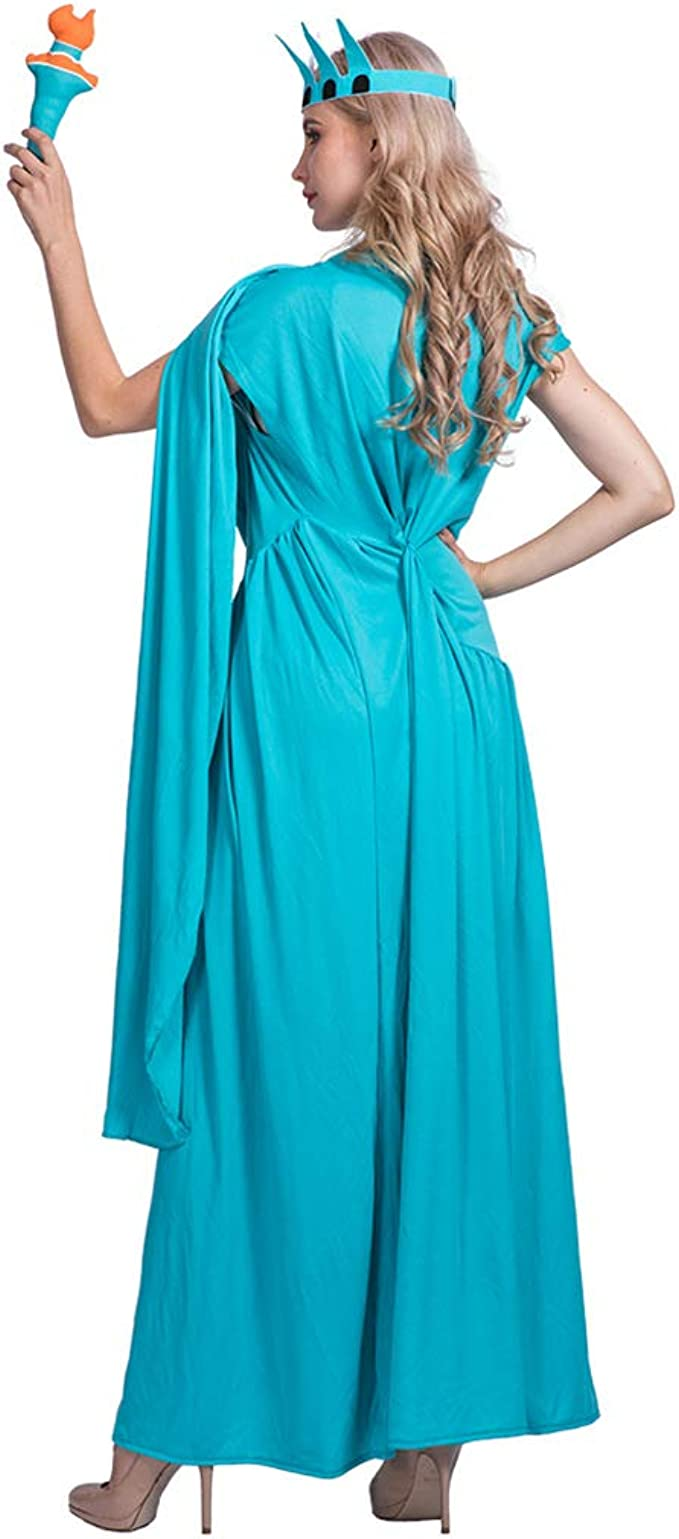 Jyrts Disfraces de Halloween para Mujer, Disfraz de Estatua de la ...