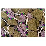 Zziggysgal 12-pack of French Lavender Filled Lavender Sachets
