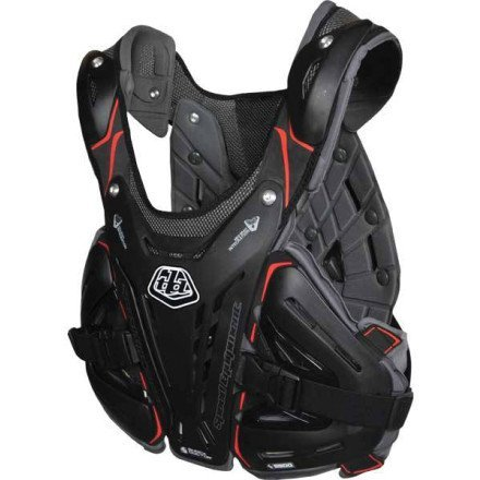 Troy Lee Designs 5900 Chest Protector-Black-L by Troy Lee Designs (Image #1)