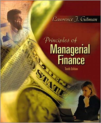 Principles of managerial finance 10th edition 9780201784794 principles of managerial finance 10th edition 9780201784794 economics books amazon fandeluxe Choice Image