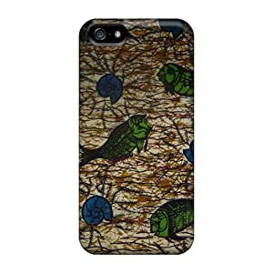 Apple Iphone 5/5s Aud1614sfFa Allow Personal Design Realistic Grateful Dead Image Bumper Cell-phone Hard Cover -DeanHubley