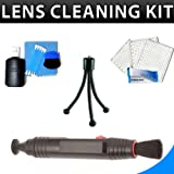 Lenspen + 5Pcs Deluxe Cleaning Kit For Canon EOS Rebel T3i (1100D), T3, T2i (550D), T1i (500D) Digital SLR Camera