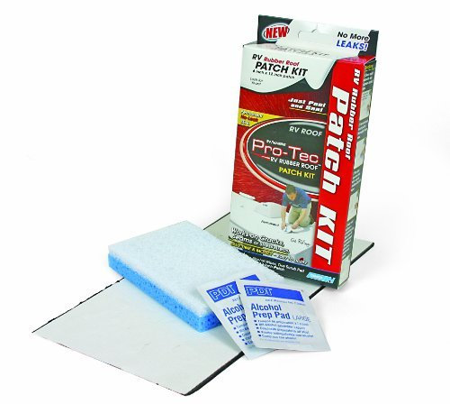 Camco 41461 Pro-Tec Rubber Roof Patch Kit, Model: 41461, Outdoor&Repair Store by Hardware & Outdoor