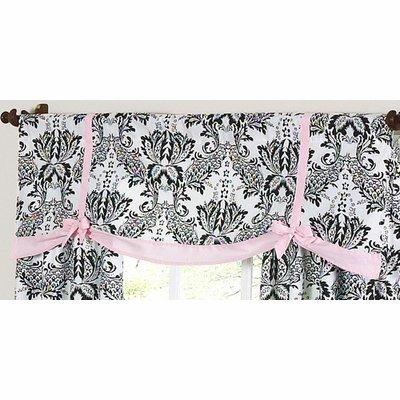 Sweet Jojo Designs Pink and Black Sophia Window (Sophia Window)