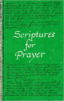 Book Scriptures For Prayers