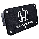 Upgrade Your Auto Rugged Black Class III Trailer Hitch Plug with Honda Ridgeline Logo engraving