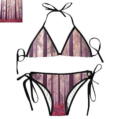 Sexy Bikini Set Rays Mystic Trees