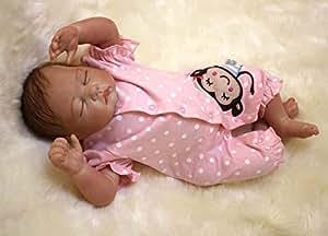Amazon.com: OSDOLL Muñecas de bebé renacido de 22.0 in de ...