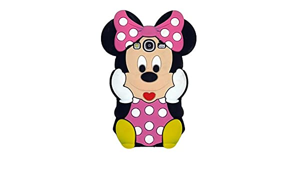 ecenter Rose Minnie Mickey Mouse suave piel funda Cover Carcasa ...