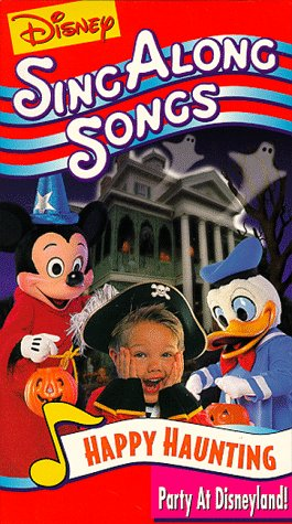Happy Haunting (Disney Sing Along Songs) [VHS] (Disneyland Halloween Party Music)