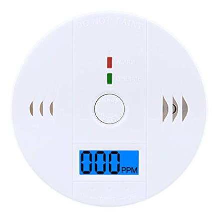 Carbon Monoxide Detector Alarm, CO Gas Sensor Detector Digital Display Alarm Clock Warning Home - - Amazon.com