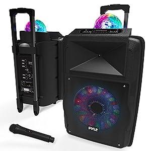 Portable DJ Karaoke PA Speaker
