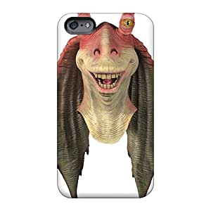 Protector Cell-phone Hard Cover For Apple Iphone 6s Plus (gwa1817ZtjV) Allow Personal Design HD Star Wars Jar Jar Binks Series