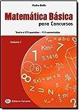 Matemática Básica Para Concursos - Volume 1