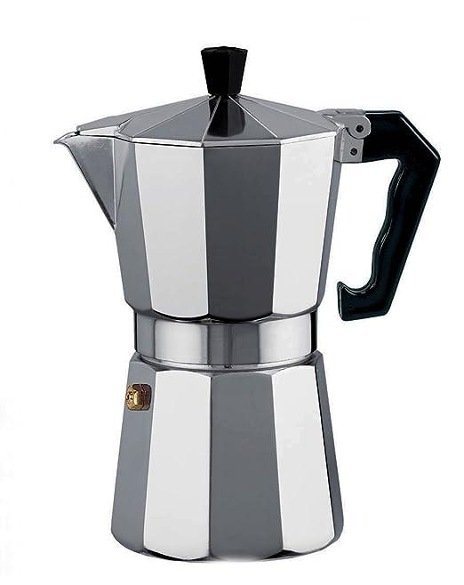 Borella Casalinghi Polo Cafetera, Aluminio, Gris: Amazon.es: Hogar