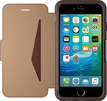 watch 5be8b b119c Otterbox Apple iPhone 6/6s Strada Leather Folio Case - Brown (Saddle)