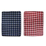 Homyl 2 Pieces Waterproof Washable Underpads Bed Under Pad Reusable Incontinent Pee Protector for Children or Adults