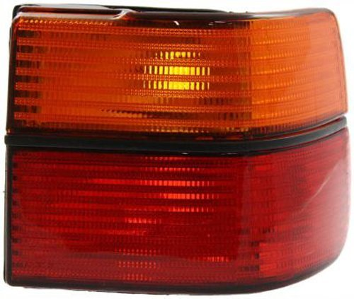 Crash Parts Plus Passenger Right Side Tail Light Tail Lamp for 93-99 Volkswagen Jetta 97 98 99 Jetta Tail